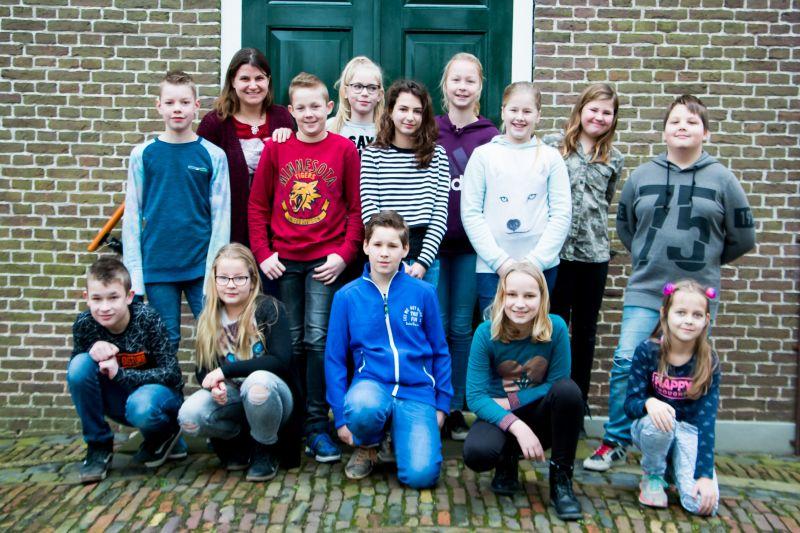 Klassenfoto groep 7-8